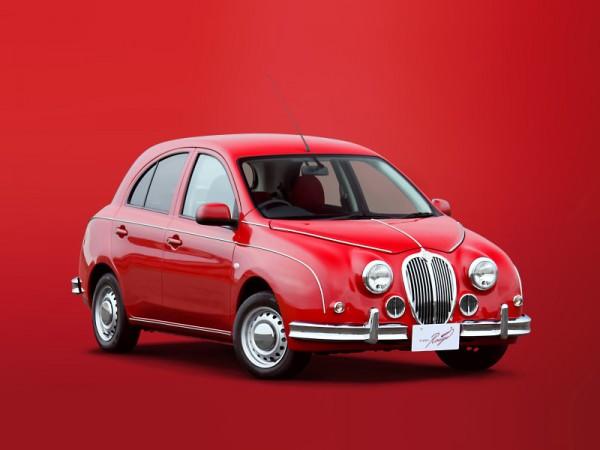 На рынок отправилась специальная версия автомобиля Mitsuoka Viewt