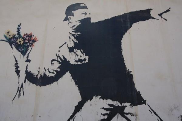 В Йемене появился уличный художник в стиле Бенкси