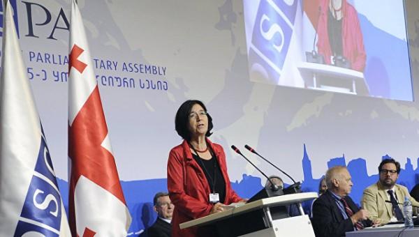 Спикером ПА ОБСЕ поддержана идея создать антитеррористический комитет