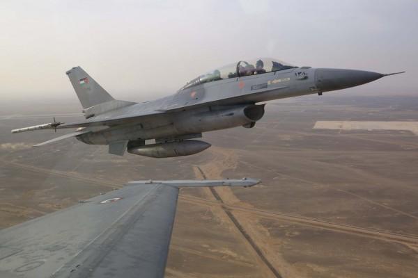 Иорданский истребитель разбился на территории Саудовской Аравии