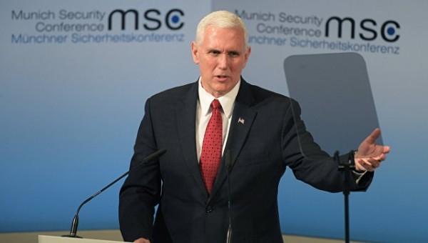 Вице-президент США не знает разницы между флагами Израиля и Никарагуа