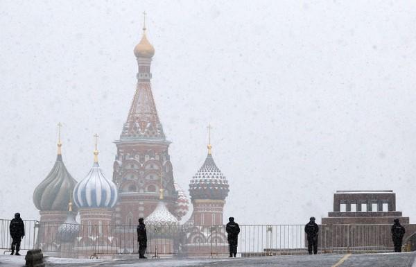Москву ожидает понижение температуры и снегопад