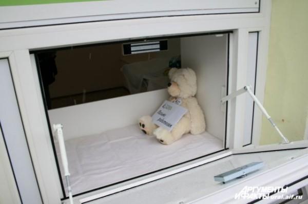 В Краснодаре от истощения умер подброшенный в бэби-бокс ребенок