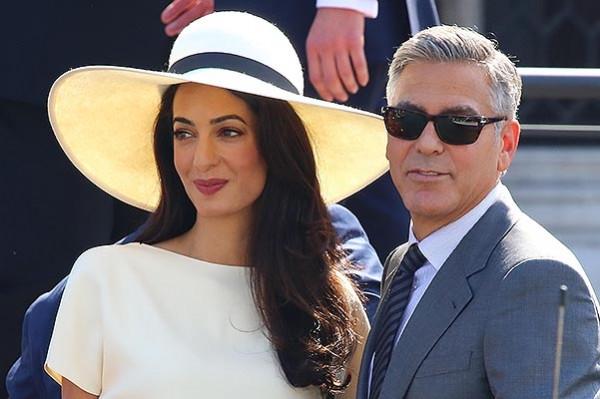 Джордж и Амаль Клуни ожидают пополнение в семье