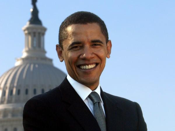 Барак Обама вышел из бизнес-центра  в Нью-Йорке под аплодисменты