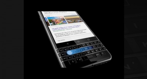 Новый BlackBerry KEYone получил классическую клавиатуру
