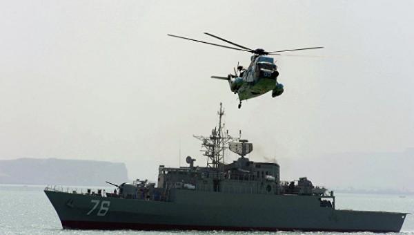 Иран начал крупномасштабные учения ВМС в Индийском океане