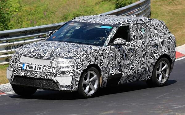 В Сети обнародовали фото гибридной версии Range Rover 2018