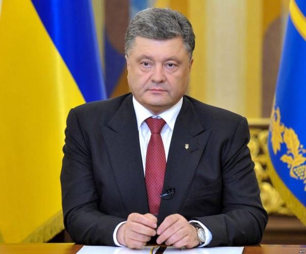 Порошенко: Украина не оставит без поддержки жителей Крыма
