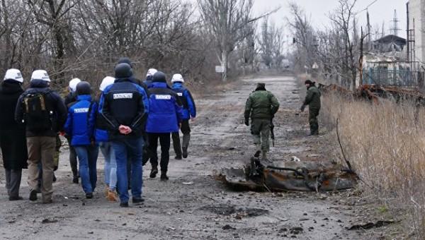 Заявление ЛНР: Силовики Украины прячут запрещённое оружие от ОБСЕ