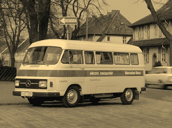 Mercedes-Benz разработала электрокар еще в 1972 году
