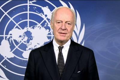 Спецпосланник ООН по Сирии прилетит в Москву 16 февраля