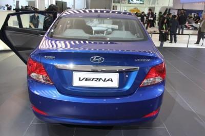 Новые хэтчбеки Hyundai Solaris поступил в продажу в Китае