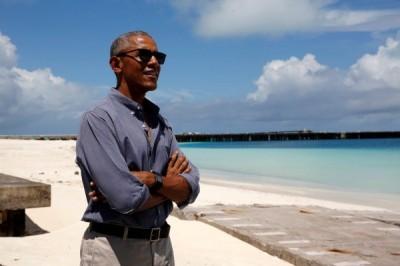Во Франции активисты предлагают Обаме принять участие в президентских выборах