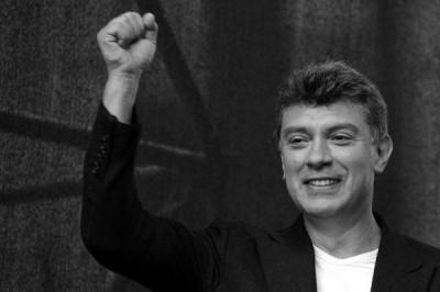 В центре Москвы ограничено движение  транспорта из-за процессии памяти Бориса Немцова