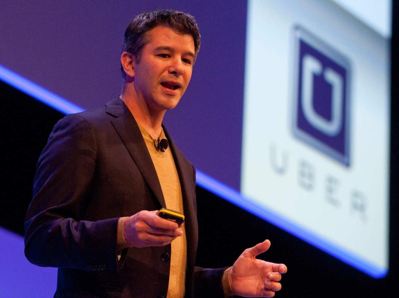 Руководитель Uber поругался сводителем собственной компании впроцессе поездки натакси