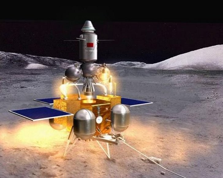 КНР после миссии наМарс запланировал посадку зонда наастероид