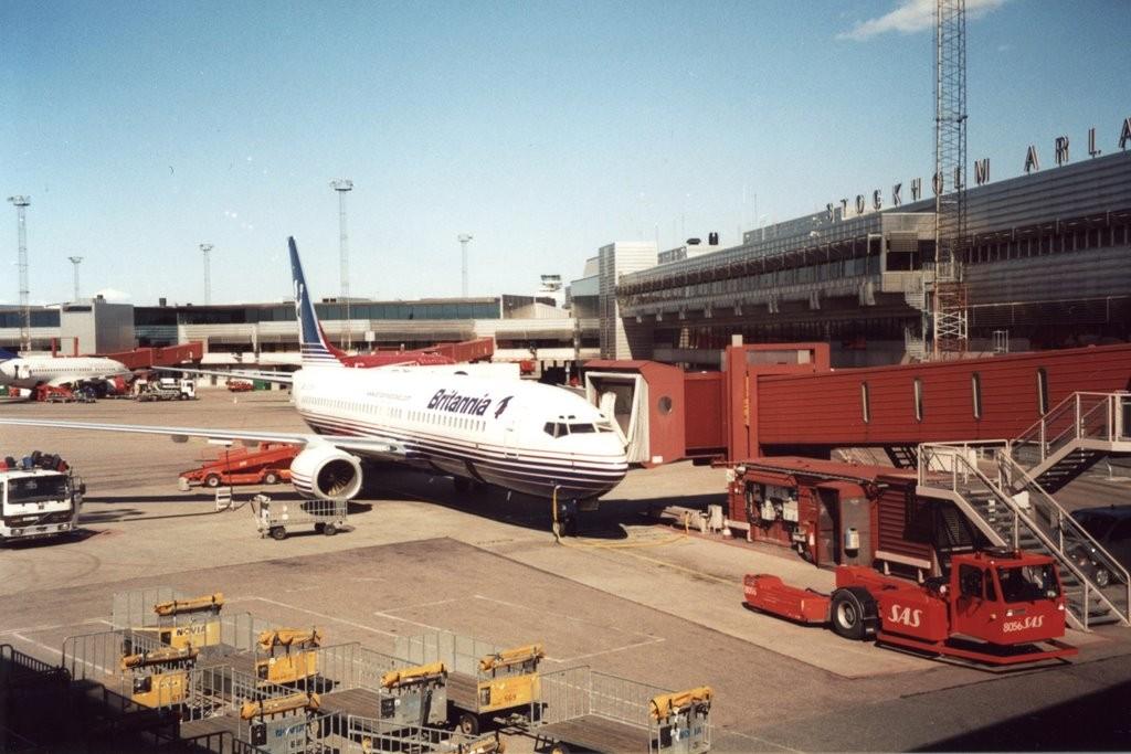 Ваэропорту Стокгольма из-за угрозы взрыва эвакуировали самолет