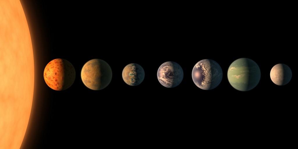 Усистемы TRAPPIST-1 больше шансов назарождение жизни, чем уЗемли