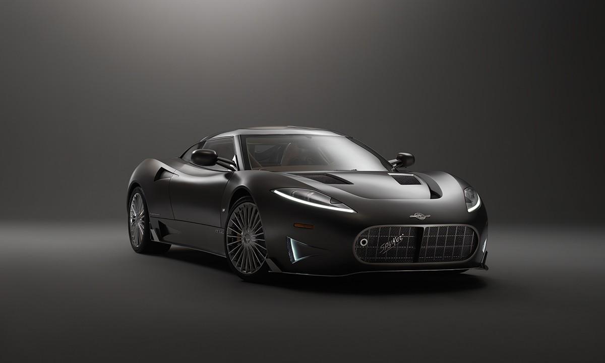 Spyker представит на автомобильном салоне вЖеневе родстер C8 Preliator Spyder
