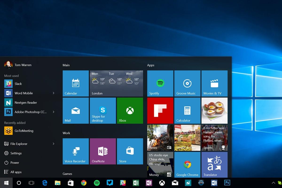 Компания Microsoft анонсировала два обновления Windows 10 в 2017-ом году