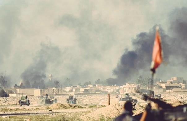 Боевики ИГ, отступая изПальмиры, подожгли газовое месторождение Хиян