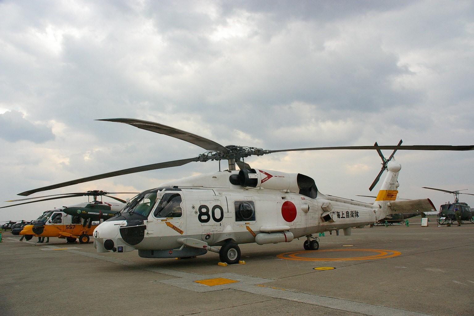 ВЯпонии разбился спасательный вертолет