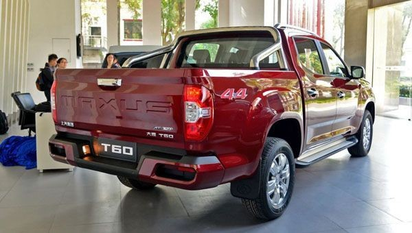 В КНР началась продажа пикапа Maxus T60