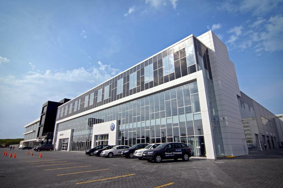 VW открыл новый дилерский центр вЯрославе