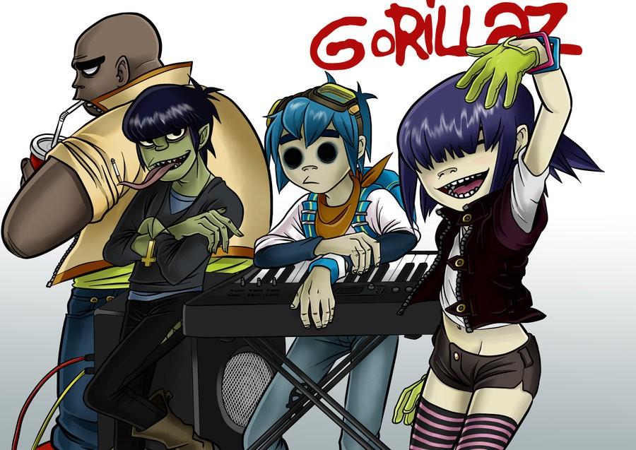 Легендарный проект Gorillaz запускает свой 1-ый фестиваль вВеликобритании