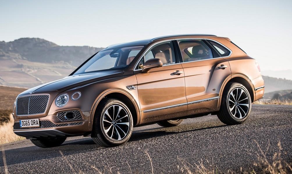 Bentley привезет на рынокРФ дизельную версию Bentayga этой осенью