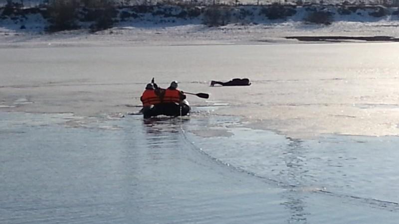 ВТверской области боец Росгвардии спас ребёнка, провалившегося под лёд