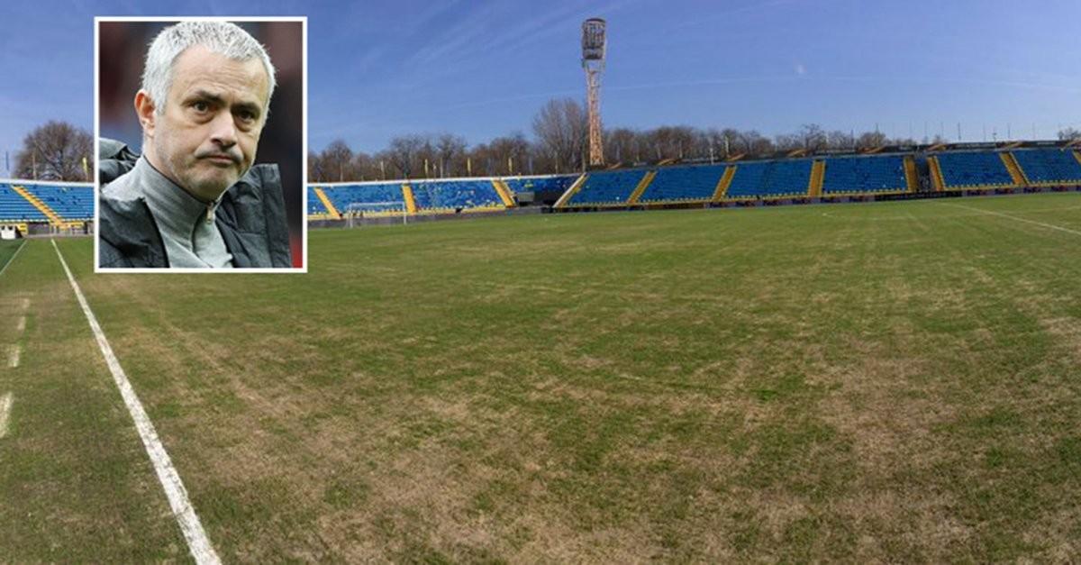 Моуринью затруднился назвать полем газон надомашнем стадионе «Ростова»
