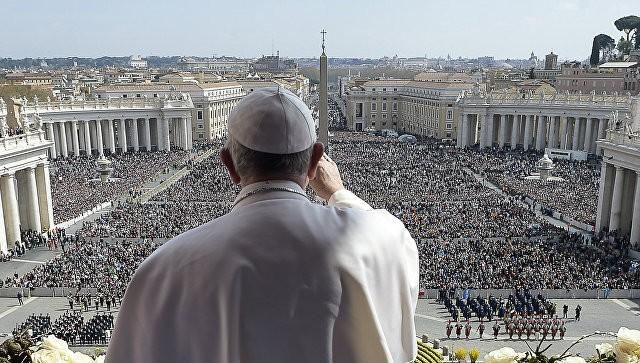 Папа римский появится наобложке нового номера Rolling Stone