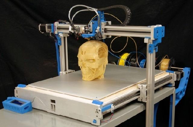 Наибольший в РФ 3D-принтер презентовали в российской столице
