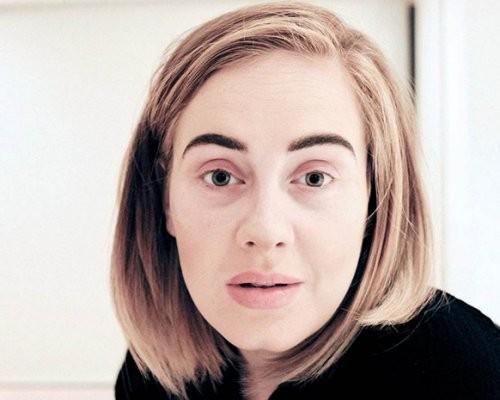 Эстрадная певица Адель шокировала фанатов снимком без макияжа