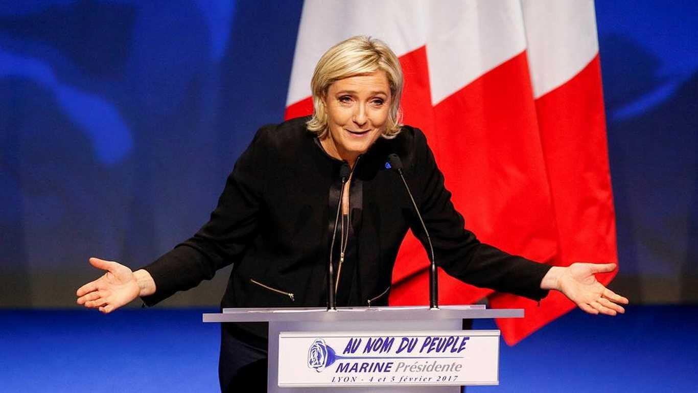 ЛеПен собрала подписи для участия ввыборах президента Франции
