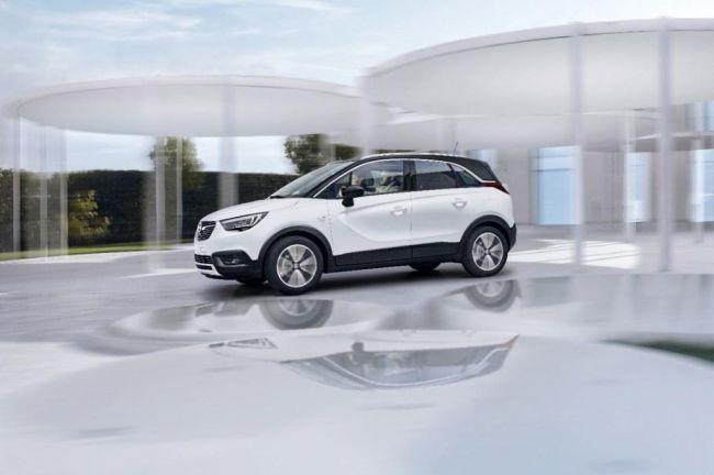 Opel озвучил цены на новый кроссовер Opel Crossland X