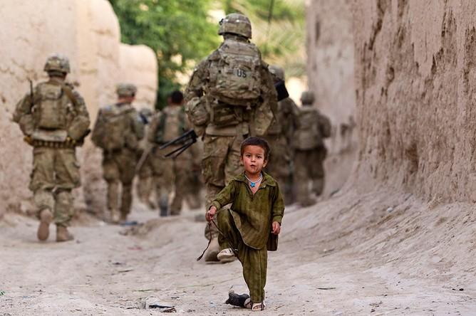 Как минимум 8-ми служащих милиции погибли в итоге атаки наюге Афганистана