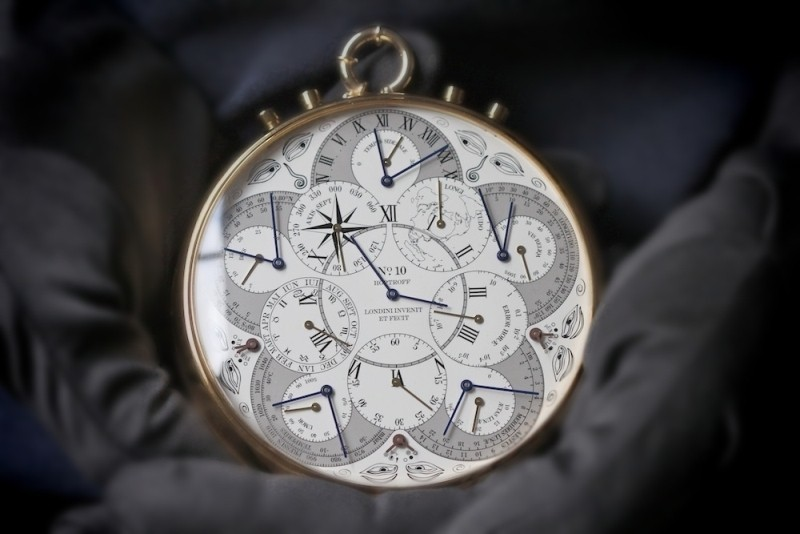 Англия  представила самые достоверные  атомные часы вмире