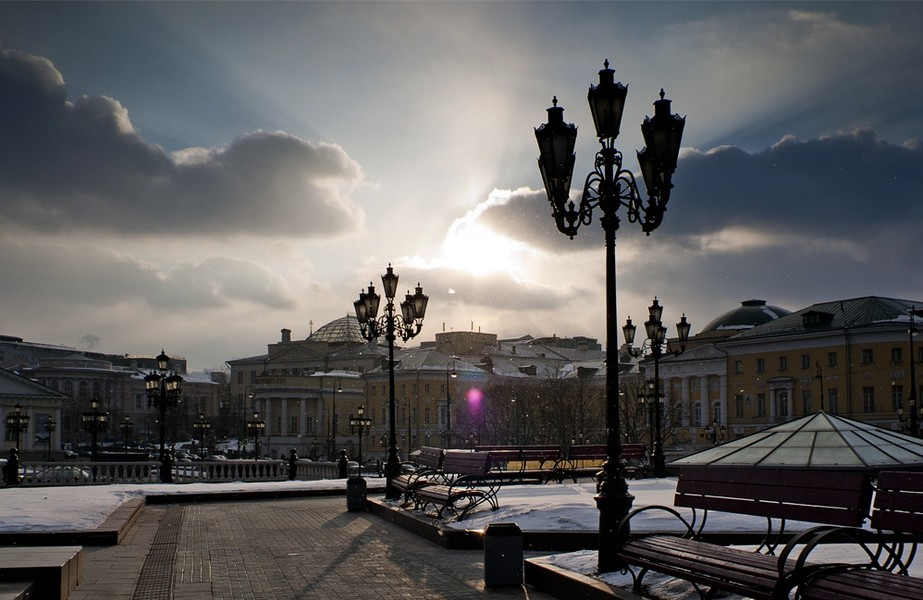 Погода в столице России ухудшится ксередине недели