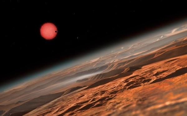 NASA показало потенциально обитаемые планеты TRAPPIST-1