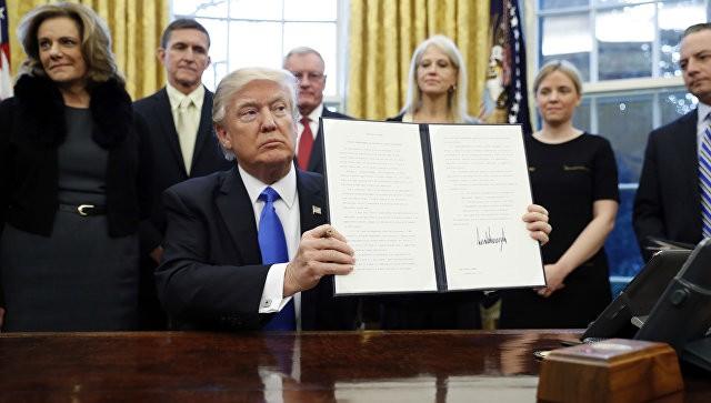 Трамп подписал указ ореорганизации исполнительной власти вСША