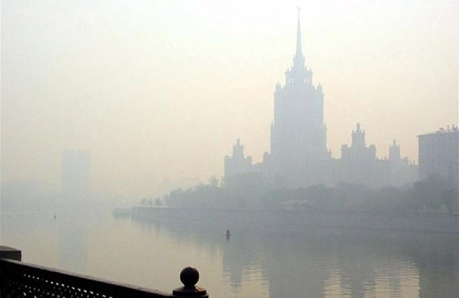 В столице России уровень сероводорода превысил допустимую концентрацию