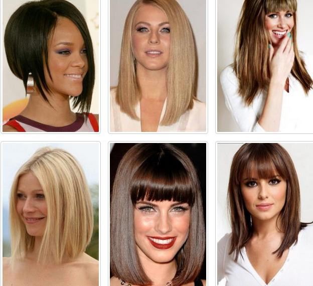 Модные стрижки 2017-2018 женские и средние волосы