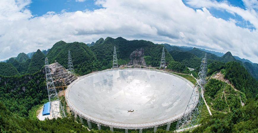 КНР начал строительство обсерватории для исследования космического излучения