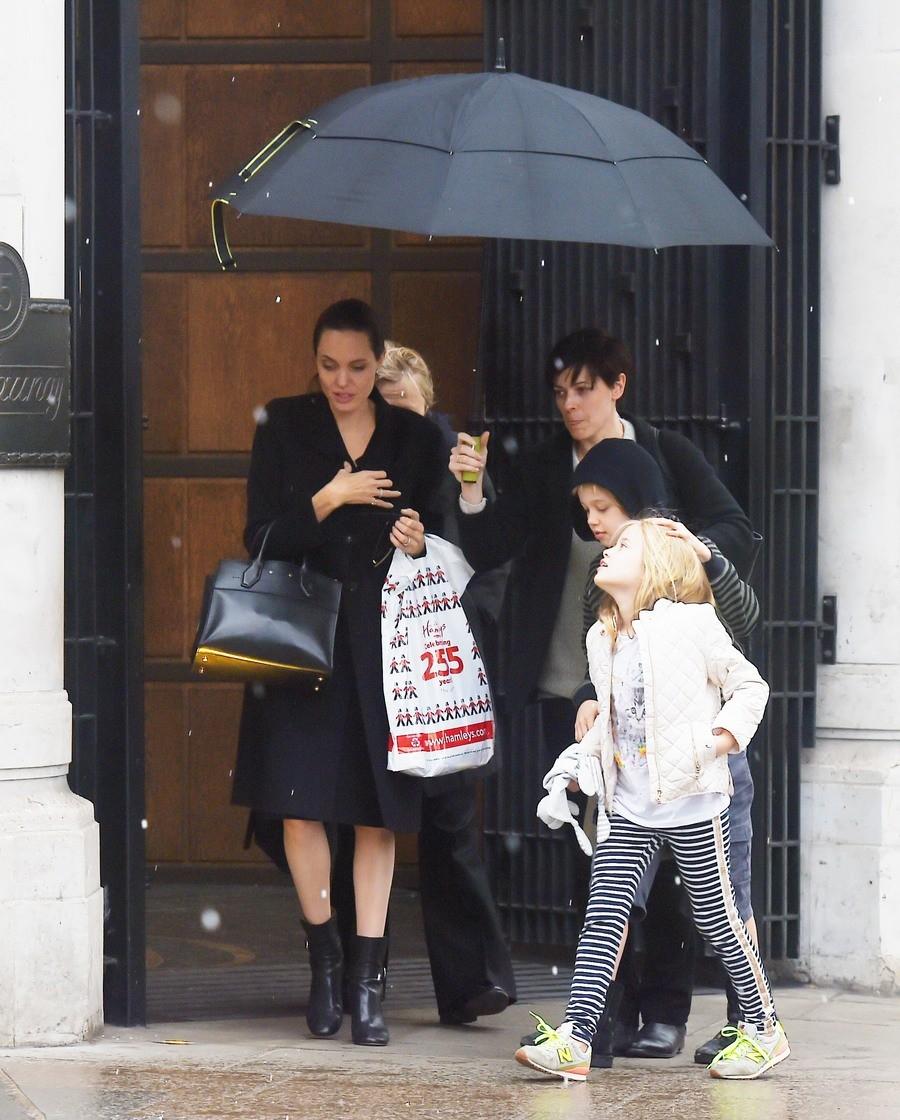 Фанаты Анджелины Джоли поражены нехорошим  внешним обликом  еедетей