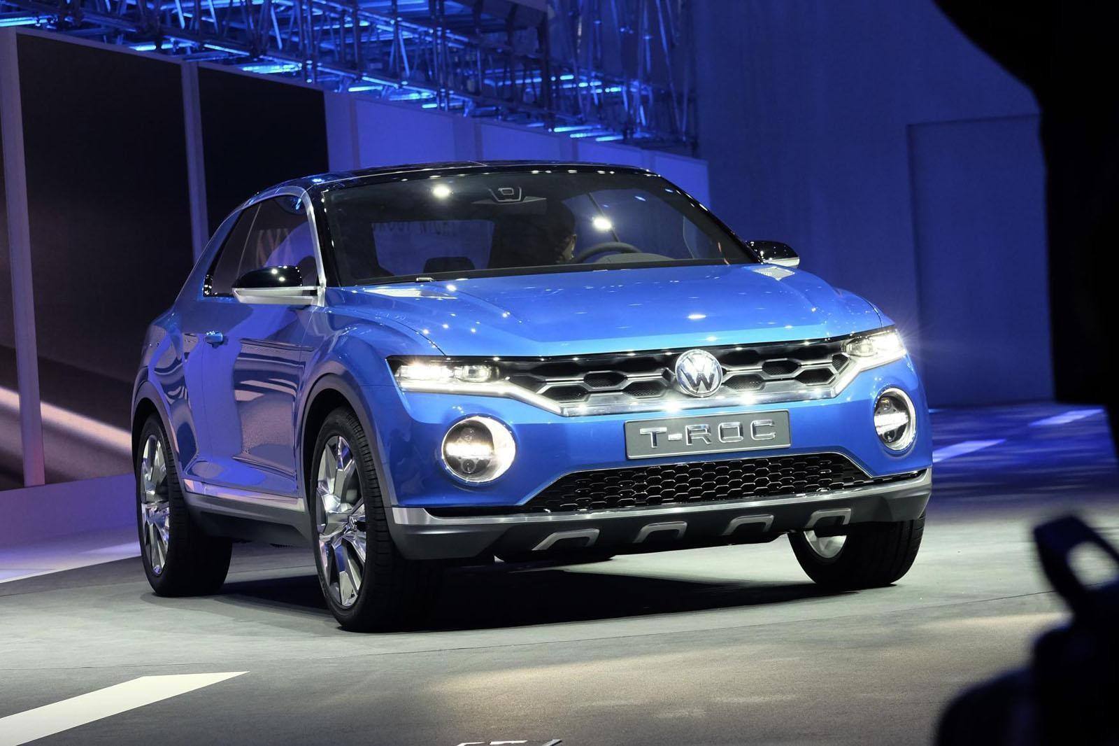 VW поведал о небольшом кроссовере T-Roc иновом седане Polo