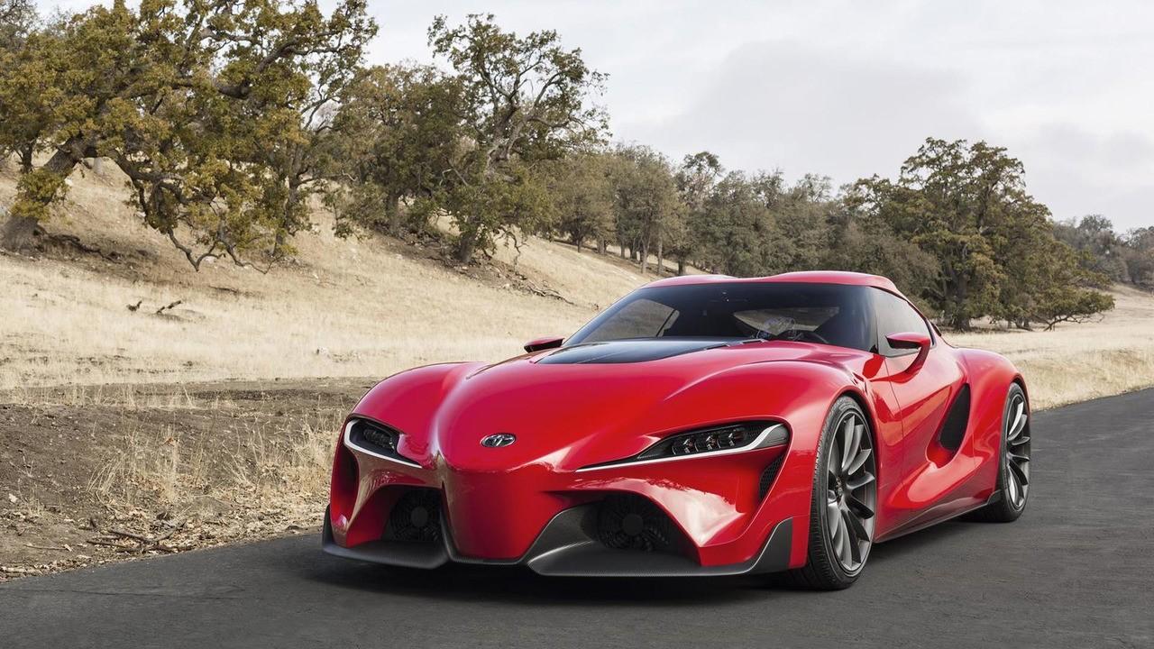 Папарацци засняли новую модель Тойота Supra 2018