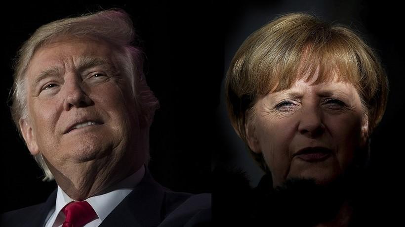 Politico поведала , что Меркель нужно отТрампа